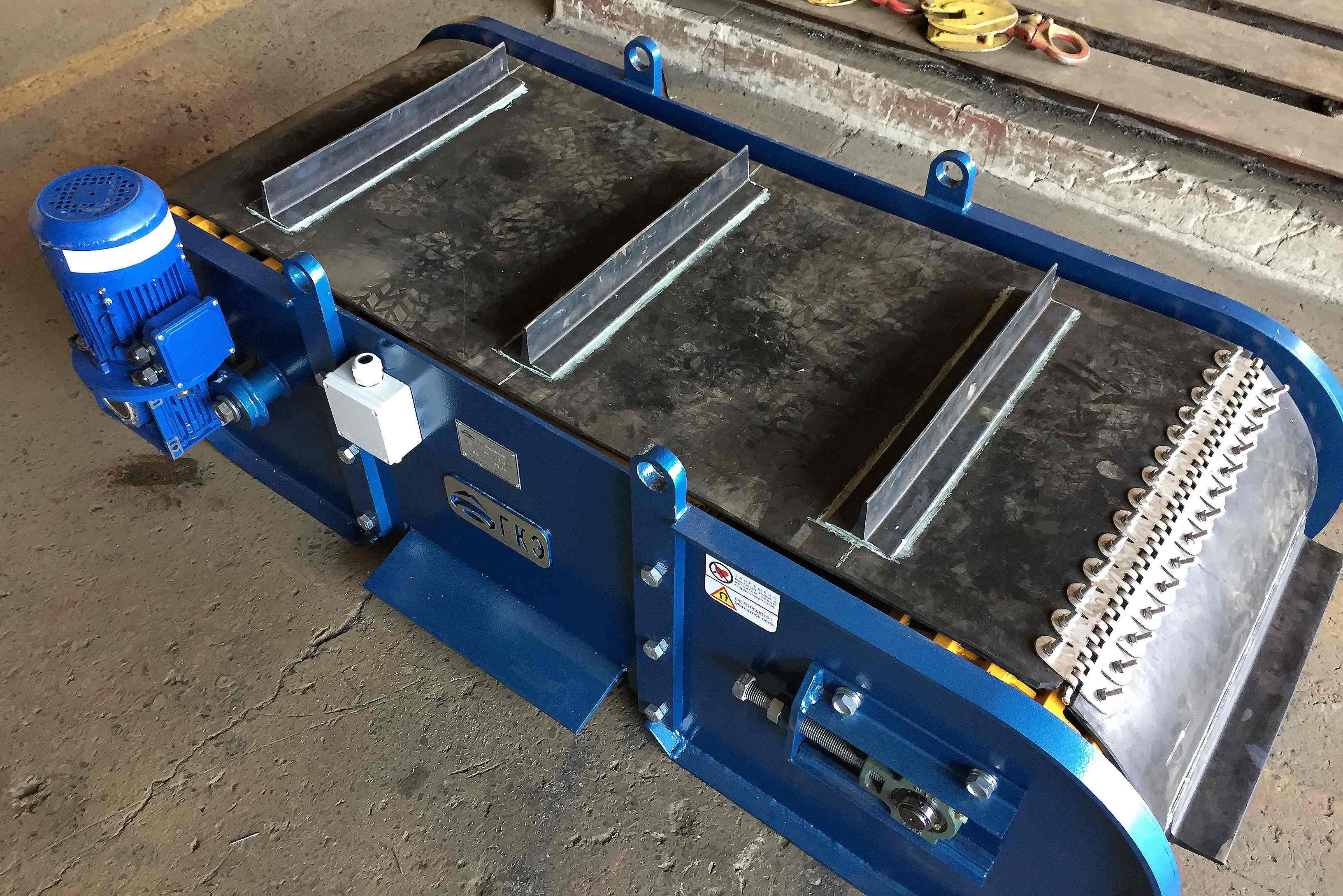 Металлоуловитель для конвейера подвесные цепные транспортеры